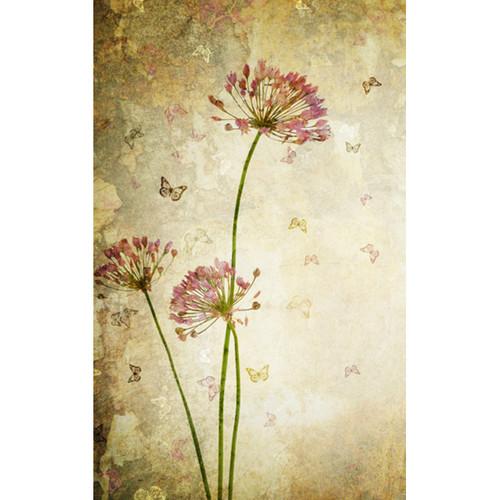Click Props Backdrops Flower Distressed Backdrop (5 x 8')