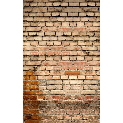 Click Props Backdrops Old Rural Brick Wall Backdrop (5 x 8')