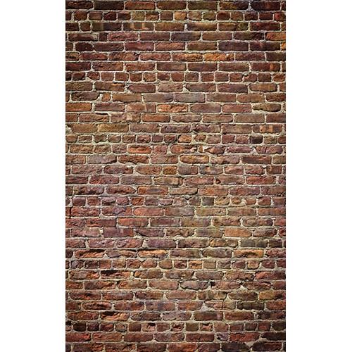Click Props Backdrops Brick Natural Backdrop (5 x 8')