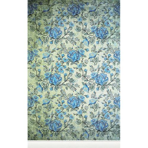 Click Props Backdrops Rose Blue Backdrop (5 x 8')