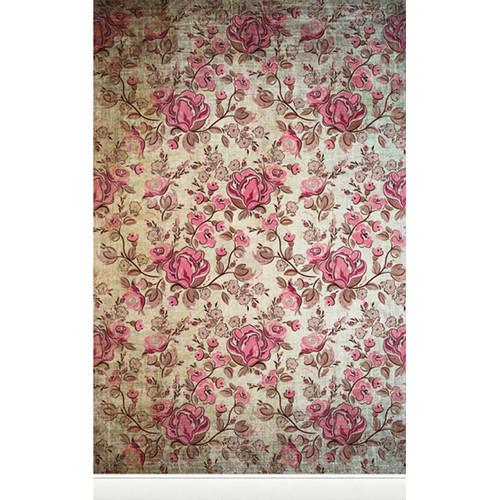 Click Props Backdrops Rose Distressed Backdrop (5 x 8')