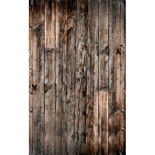 Click Props Backdrops Wood Vertical Natural Backdrop (5 x 8')