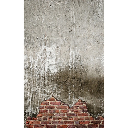 Click Props Backdrops Concrete Crack Backdrop (5 x 8')