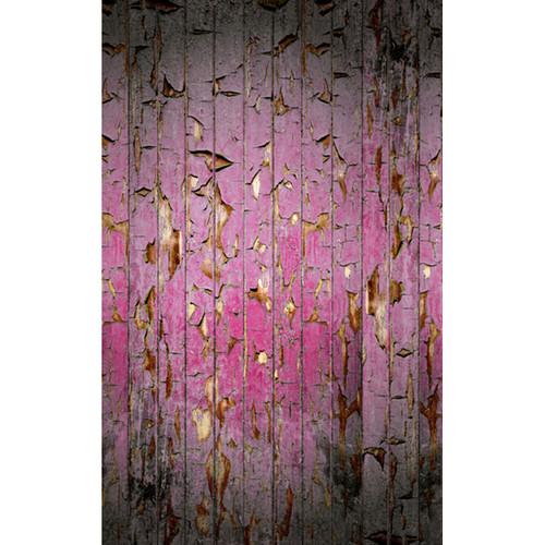 Click Props Backdrops Peeling Paint Pink Backdrop (5 x 8')