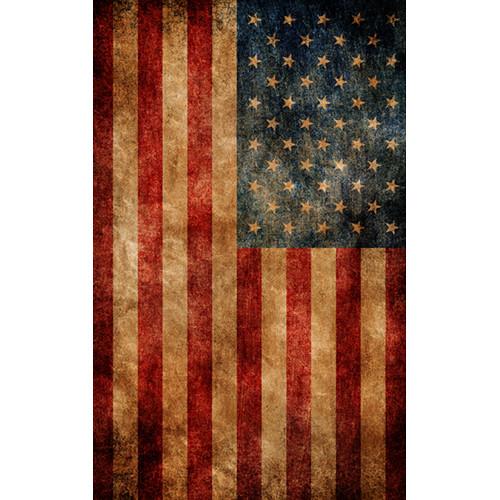 Click Props Backdrops American Flag Backdrop (5 x 8')