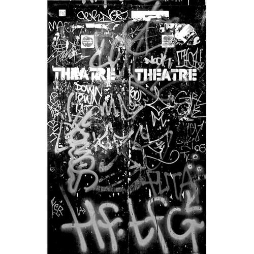 Click Props Backdrops Graffiti Door 1 Backdrop (5 x 8')
