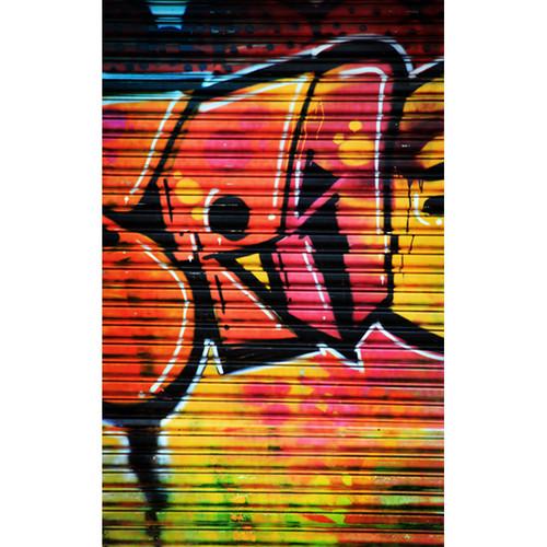 Click Props Backdrops Shutter Graffiti 1 Backdrop (5 x 8')