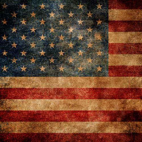 Click Props Backdrops American Flag Backdrop (5 x 5')