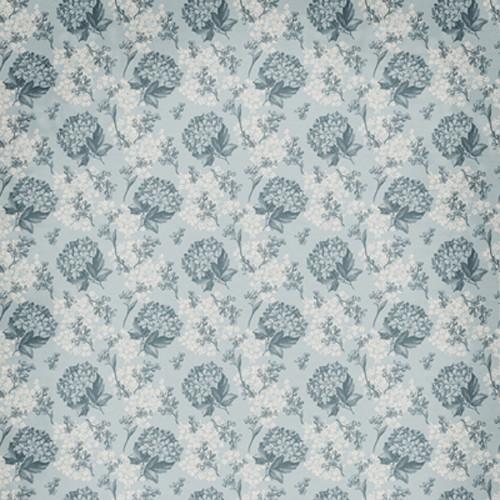 Click Props Backdrops Floral Wallpaper Blue Backdrop (5 x 5')