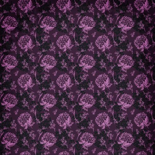 Click Props Backdrops Florla Wallpaper Pink Backdrop (5 x 5')