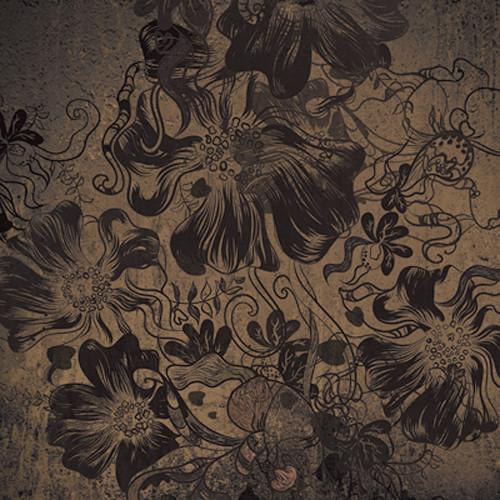 Click Props Backdrops Flowerbomb Gold Backdrop (5 x 5')
