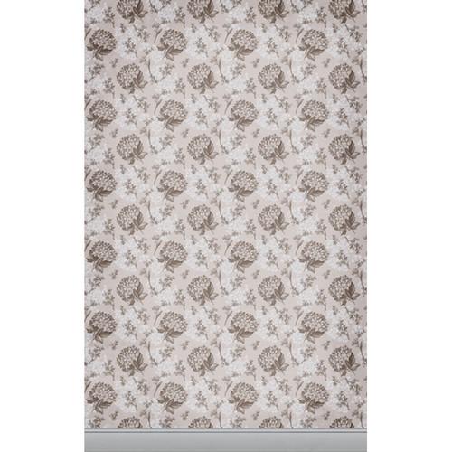 Click Props Backdrops Florla Wallpaper Brown Backdrop (5 x 8')