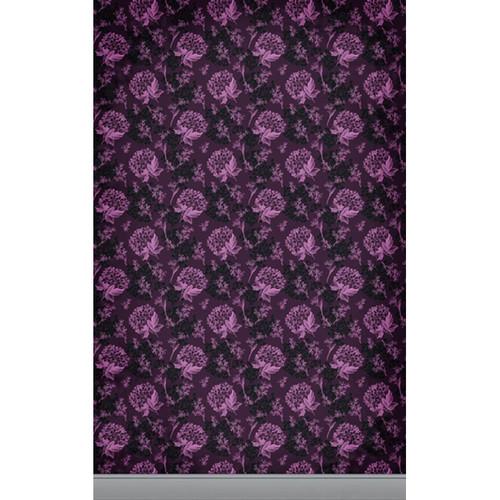 Click Props Backdrops Florla Wallpaper Pink Backdrop (5 x 8')