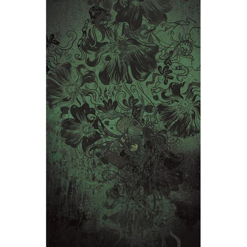 Click Props Backdrops Flowerbomb Green Backdrop (5 x 8')