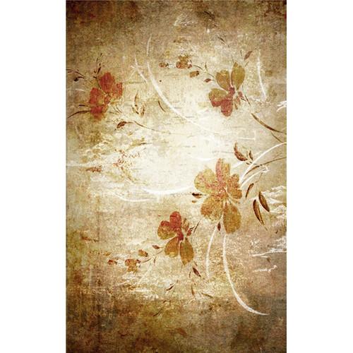 Click Props Backdrops Oriental Floral Wallpaper Backdrop (5 x 8')