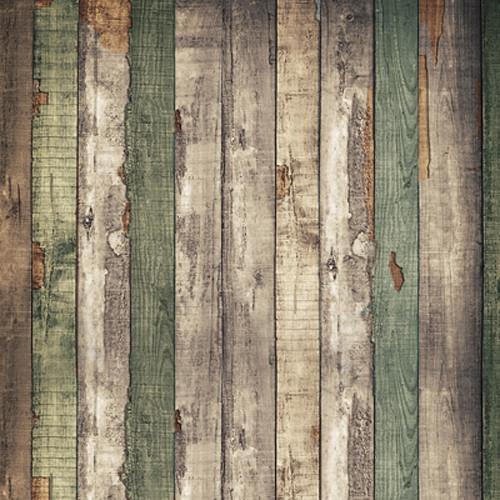 Click Props Backdrops Wood Shack Backdrop (5 x 5')