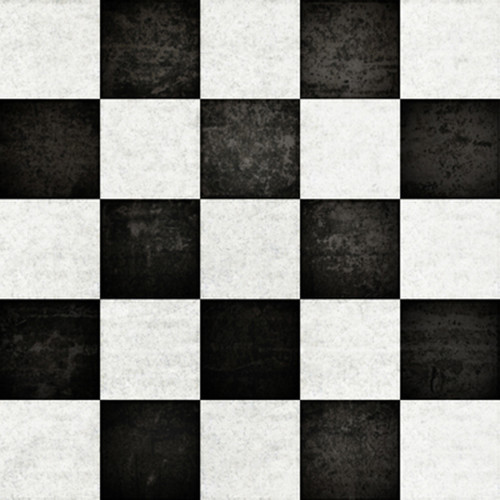 Click Props Backdrops Chequered Backdrop (5 x 5')