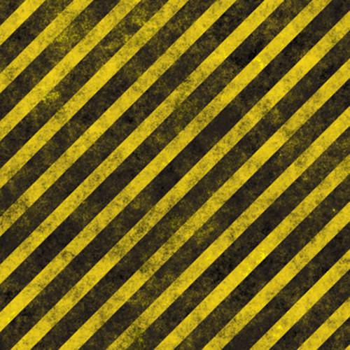 Click Props Backdrops Hazard Stripes Backdrop (5 x 5')