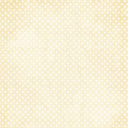 Click Props Backdrops Polka Dot Yellow Backdrop (5 x 5')
