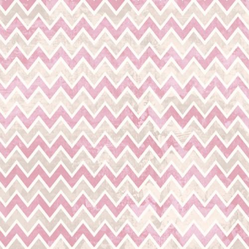 Click Props Backdrops Zigzag Pink Backdrop (5 x 5')
