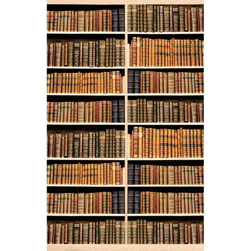 Click Props Backdrops Bookshelf Lime Oak Backdrop (5 x 8')