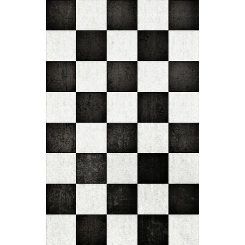 Click Props Backdrops Chequered Backdrop (5 x 8')