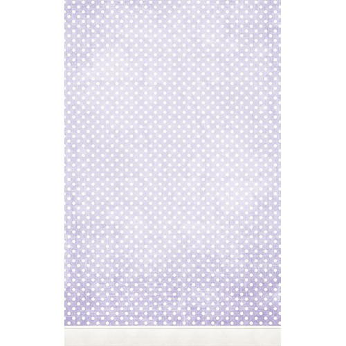 Click Props Backdrops Polka Dot Purple Backdrop (5 x 8')