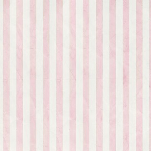 Click Props Backdrops Pink Candy Stripe Backdrop (5 x 5')