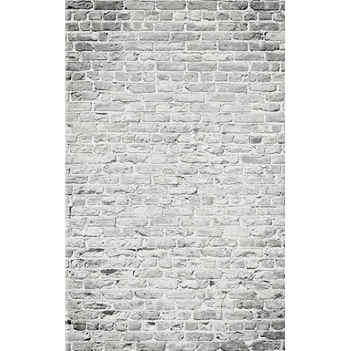 Click Props Backdrops Brick White Backdrop (5 x 8')