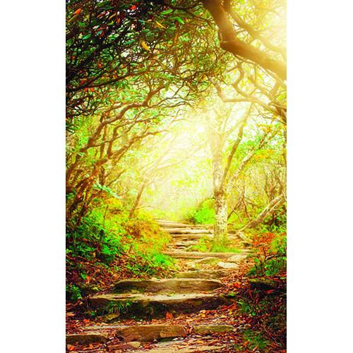 Click Props Backdrops Forest Steps Backdrop (5 x 8')