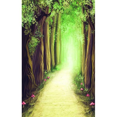 Click Props Backdrops Fantasy Forest Backdrop (5 x 8')