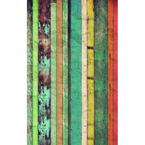 Click Props Backdrops Colored Plank Backdrop (5 x 8')