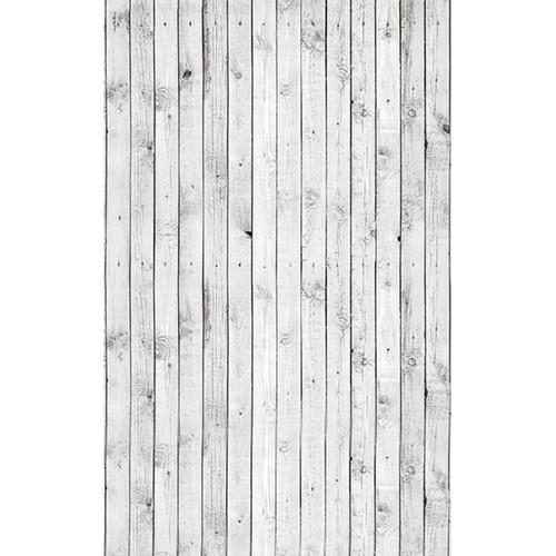 Click Props Backdrops White Plank Backdrop (5 x 8')