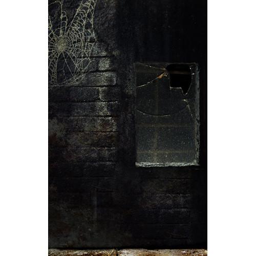Click Props Backdrops Halloween Window Backdrop (5 x 8')
