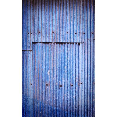 Click Props Backdrops Blue Corrugated Panel Backdrop (5 x 8')