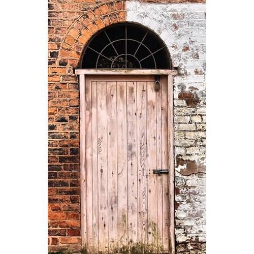 Click Props Backdrops Two Tone Door Backdrop (5 x 8')