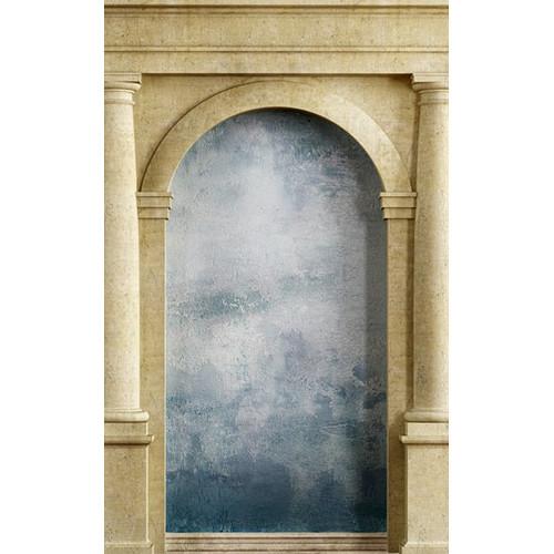 Click Props Backdrops Roman Arch Blue Backdrop (5 x 8')