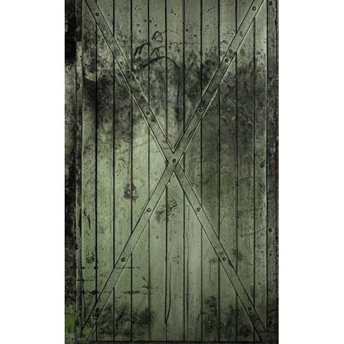 Click Props Backdrops Green Gate Backdrop (5 x 8')