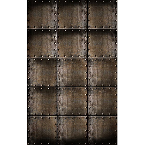 Click Props Backdrops Rusty Steel Cubes Backdrop (5 x 8')