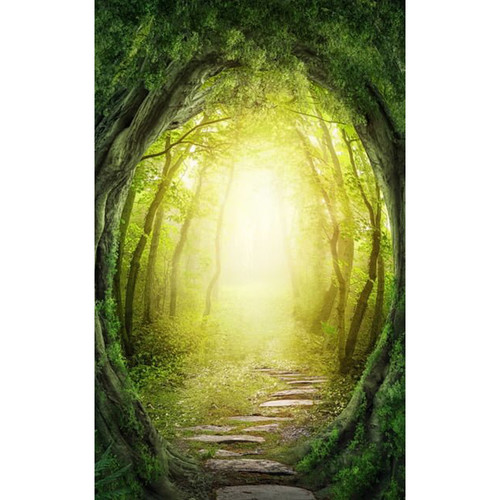 Click Props Backdrops Enchanted Pathway Backdrop (5 x 8')