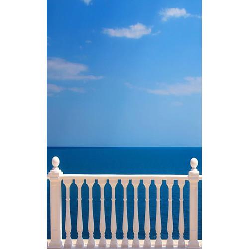 Click Props Backdrops Sea View Backdrop (5 x 8')