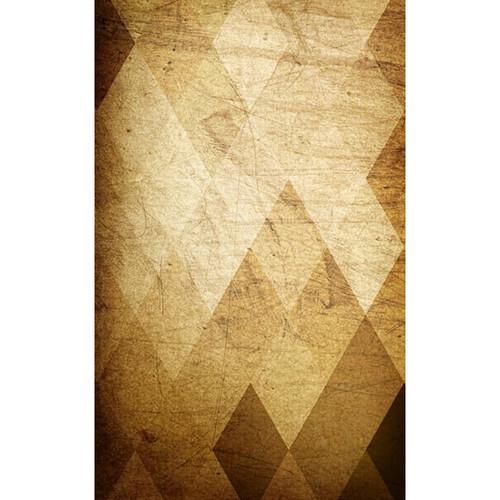 Click Props Backdrops Brown Diamonds Backdrop (5 x 8')
