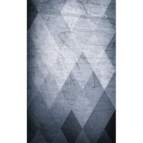 Click Props Backdrops Grey Diamonds Backdrop (5 x 8')