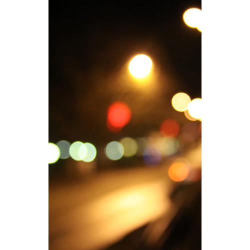 Click Props Backdrops Midnight Street Bokeh Backdrop (5 x 8')