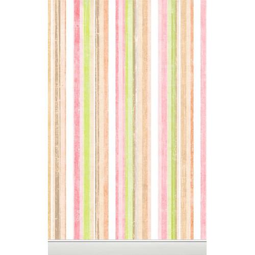 Click Props Backdrops Pastel Stripes Backdrop (5 x 8')