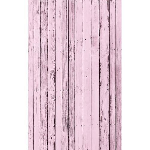 Click Props Backdrops Pink Beach Wood Backdrop (5 x 8')