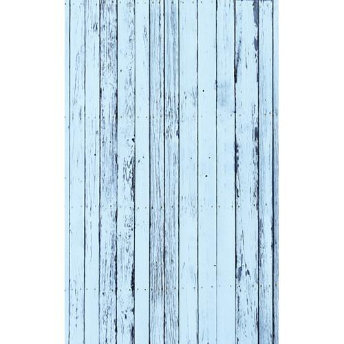 Click Props Backdrops Blue Beach Wood Backdrop (5 x 8')