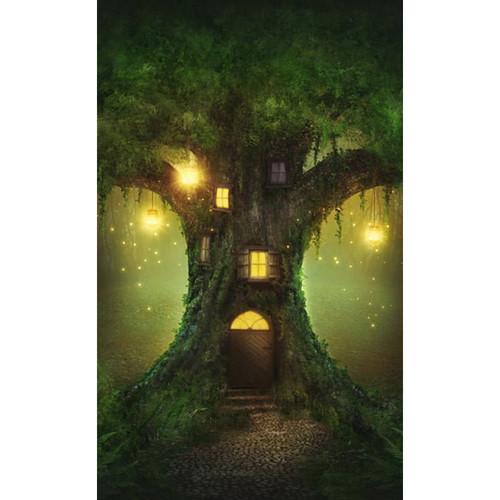 Click Props Backdrops Enchanted Tree Backdrop (5 x 8')