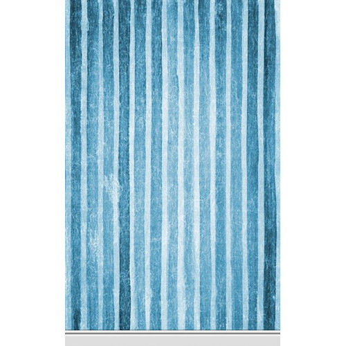 Click Props Backdrops Saphire Stripe Backdrop (5 x 8')