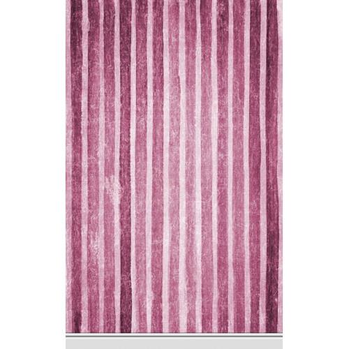 Click Props Backdrops Ruby Stripe Backdrop (5 x 8')